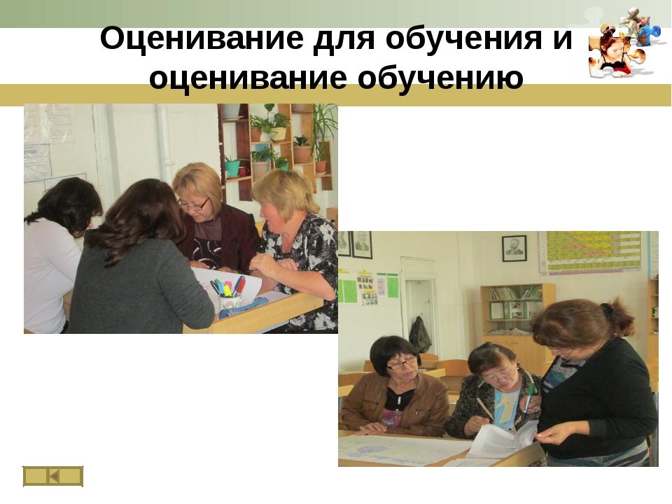 Оценивание для обучения и оценивание обучению www.themegallery.com
