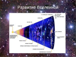 Развитие Вселенной