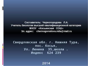 Свердловская обл. г. Нижняя Тура, пос. Косья, Ул. Ленина 35,школа . Индекс 62