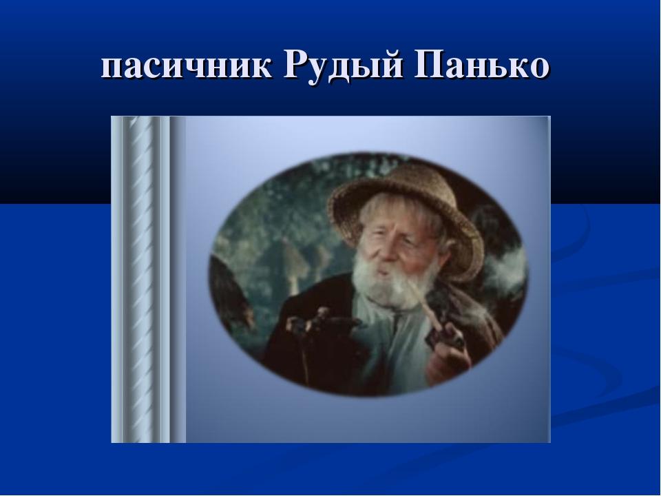 пасичник Рудый Панько