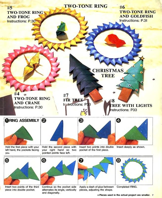 Все схемы модульного оригами с пошаговыми