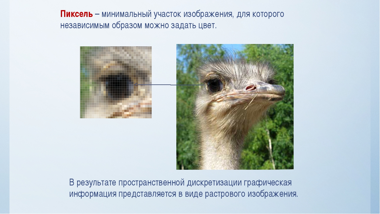Пиксель – минимальный участок изображения, для которого независимым образом м...