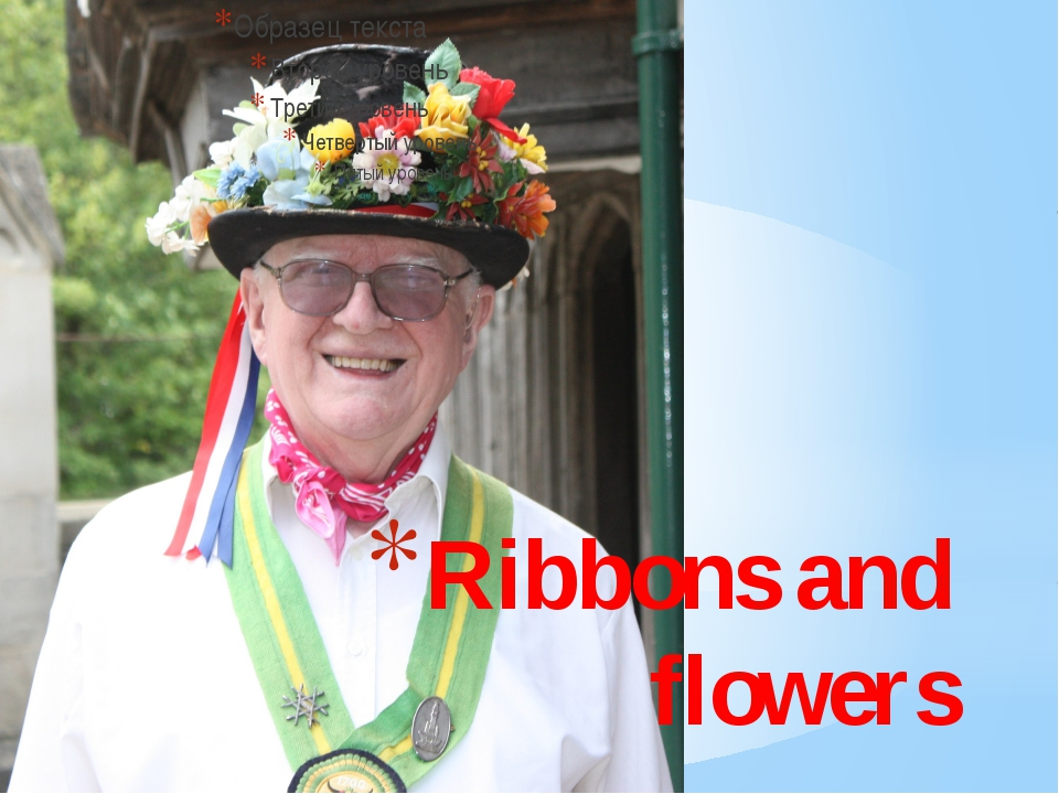 Ribbons and flowers