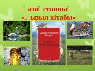 Қазақстанның «Қызыл кітабы»
