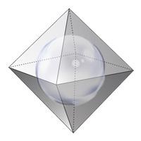сфера вписанная в октаэдр