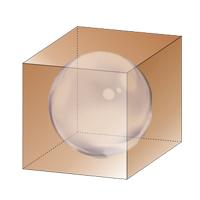 Сфера вписанная в куб