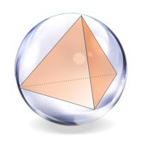Тетраэдр вписанный в сферу