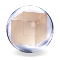 Куб вписанный в сферу