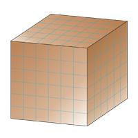 Площадь поверхности куба