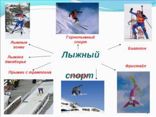 Лыжный спорт Горнолыжный спорт Лыжные гонки Прыжки с трамплина * Сноуборд Би