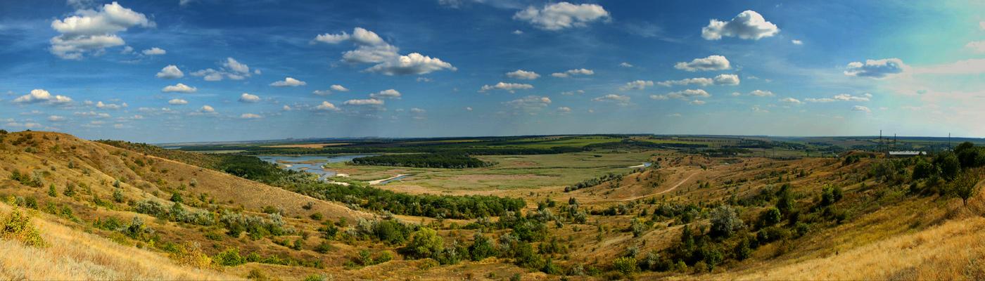 Фото достопримечательностей Донецка и Донецкой области: Клебан-Бык. Панорама