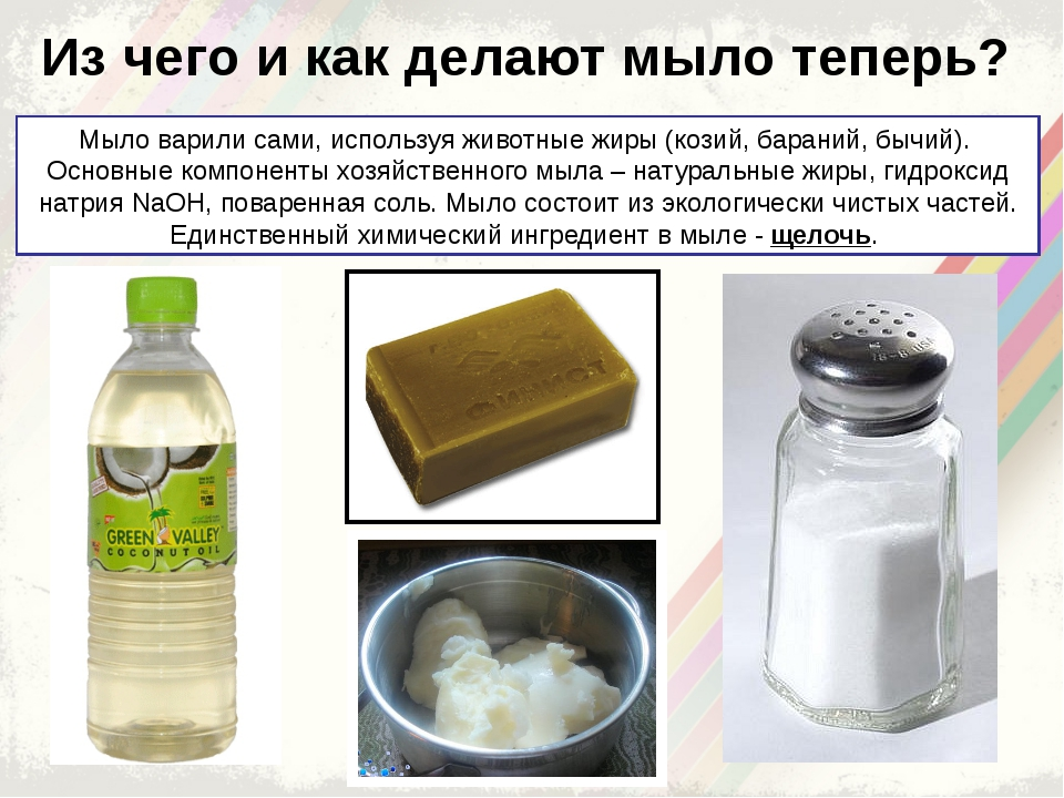 Как сделать мыло самой из чего 254