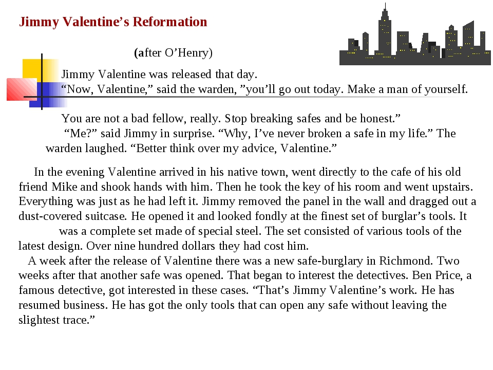 In the evening Valentine arrived in his native town, went directly to the ca...