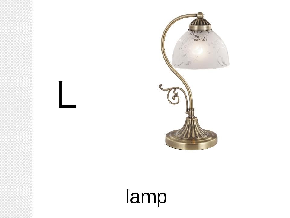 L lamp