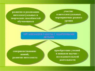 развитие и реализация интеллектуальных и творческих способностей обучающихся