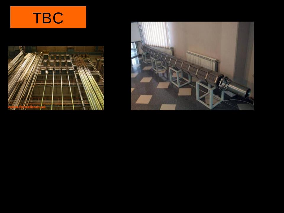 ТВС ТВС - тепловыделяющая сборка -топливная кассета, состоящая из каркаса, на...