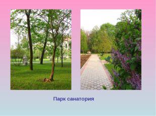 Парк санатория