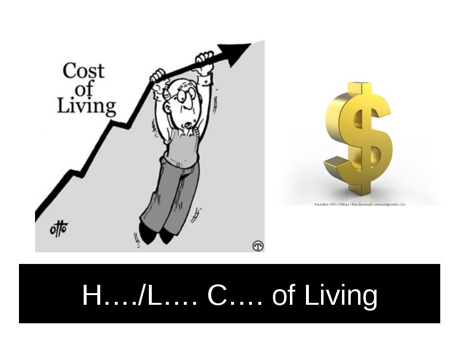 H…./L…. C…. of Living