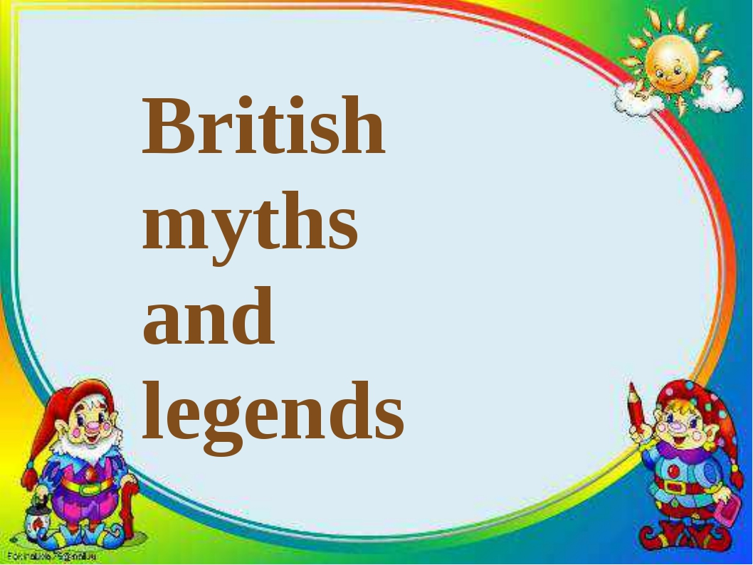 British myths and legends