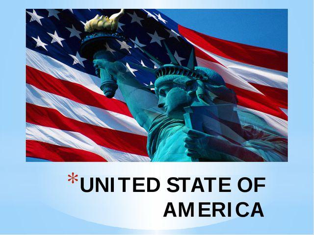 UNITED STATE OF AMERICA