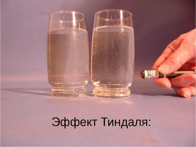 Эффект Тиндаля: