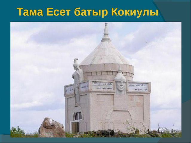 Тама Есет батыр Кокиулы