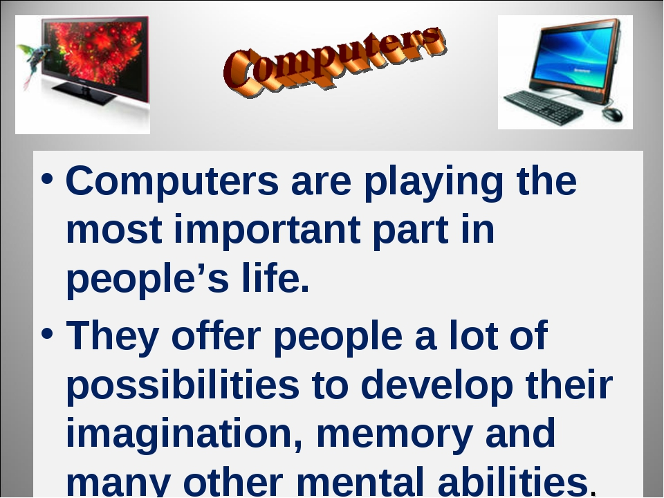 computers are an important part of The keyboard jan 21, 1947 the first computer jan 21 1944 the world wide web aug 6, 1991 the portable computer jan 21, 1975 the 10 most important events in computer history.