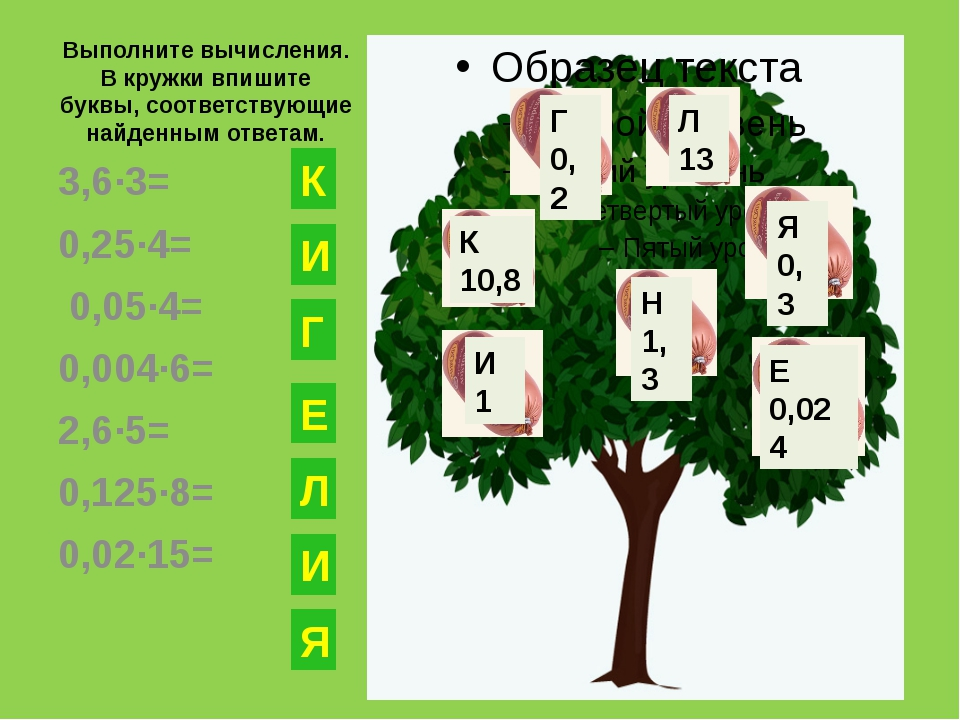 Выполните вычисления. В кружки впишите буквы, соответствующие найденным ответ...