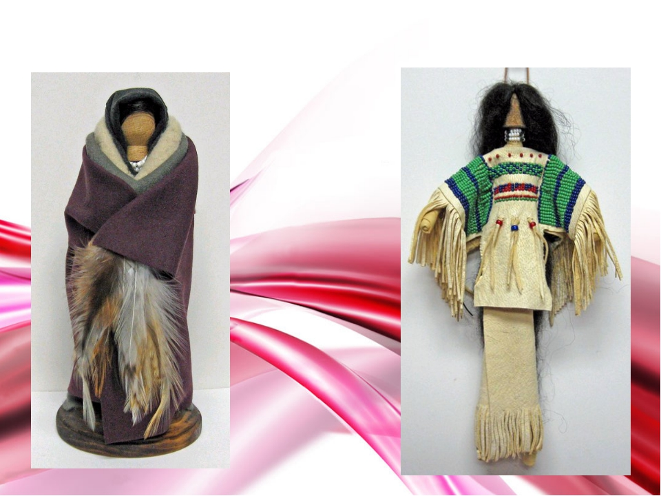 Индейские народные куклы
