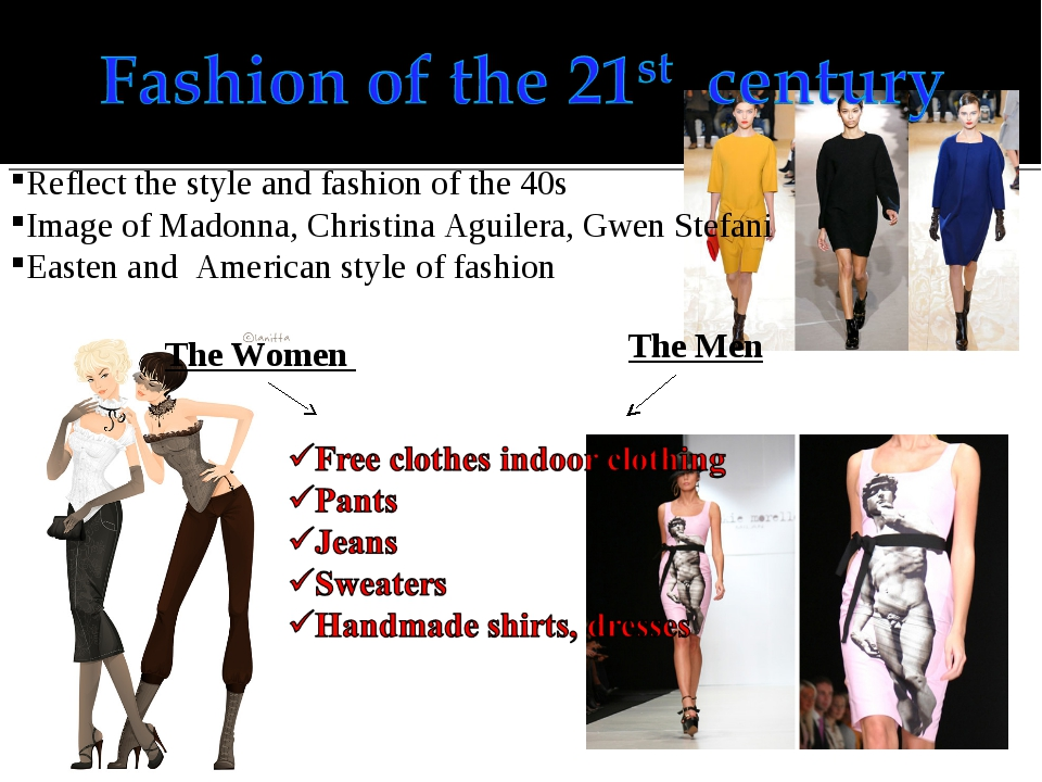 Reflect the style and fashion of the 40s Image of Madonna, Christina Aguilera...