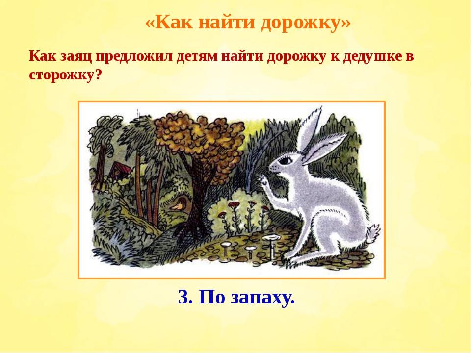 «Как найти дорожку» 2. По следам. 1. По звёздам. Как заяц предложил детям най...