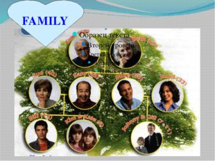What kind of family may be? a loving a close a caring a friendly a hospitable