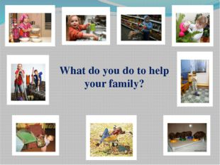 2 group: What kind of family can be? Explain what is a loving(caring, underst