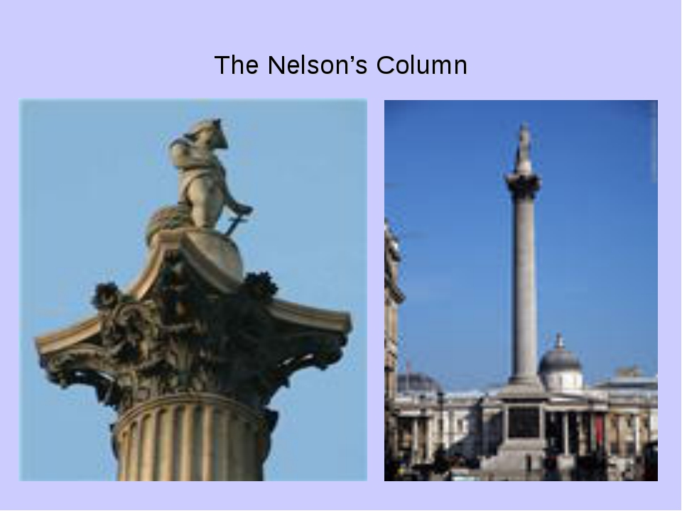 The Nelson's Column