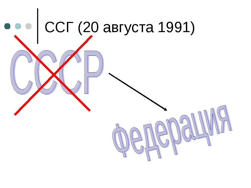 ССГ (20 августа 1991)