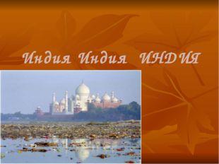Индия Индия ИНДИЯ