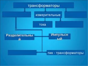 трансформаторы измерительные тока Разделительный Импульсный пик - трансформат
