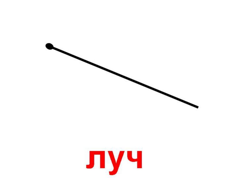 картинка геометрического луча реализует также саженцы