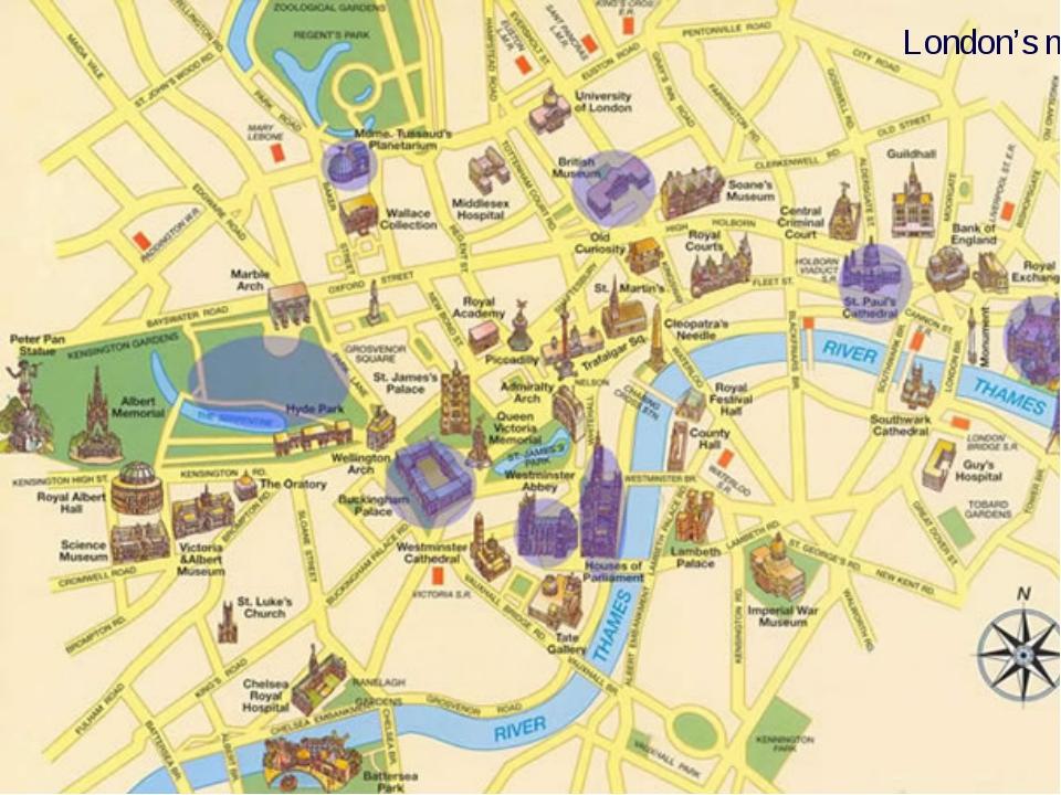 London's map