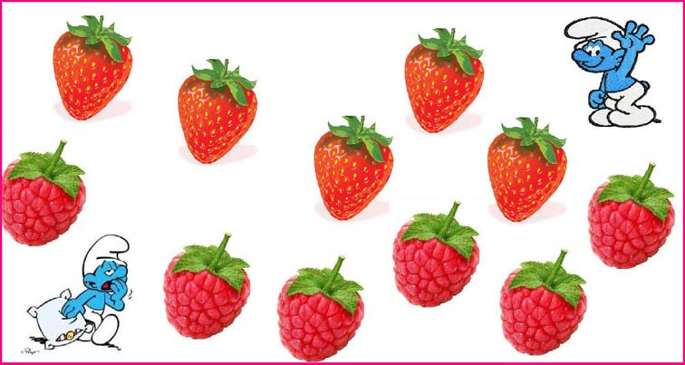 человек Шутник и ягоды