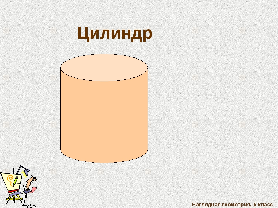 Наглядная геометрия, 6 класс Цилиндр