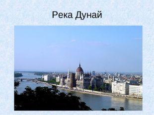 Река Дунай