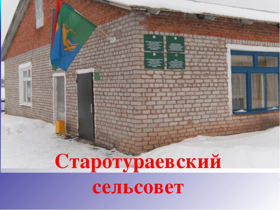 Старотураевский сельсовет