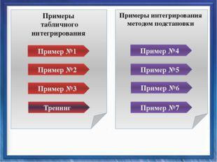 Пример №1  Интеграл суммы выражений равен сумме интегралов этих выражений