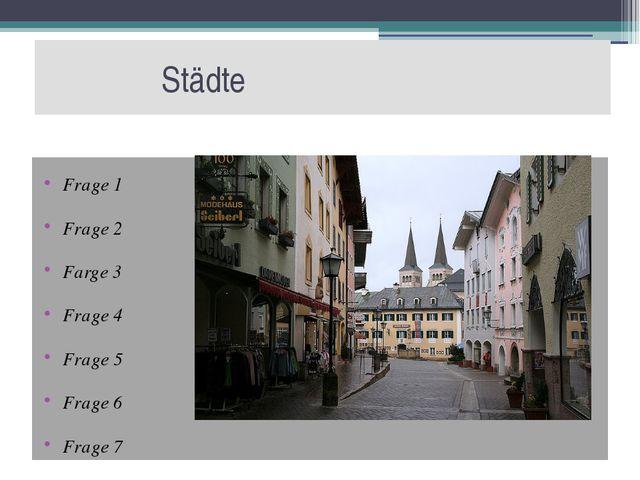 Geografie  Frage 8 An welches Land grenzt Deutschland im Osten? an Pole...