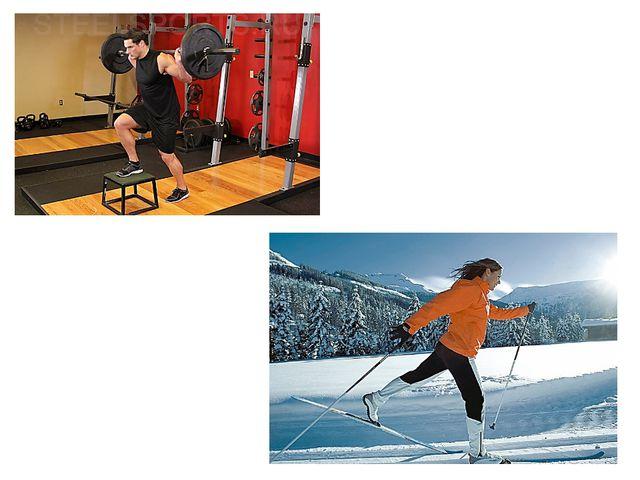 Например, для прыгуна в высоту занятия специальной физической подготовкой буд...