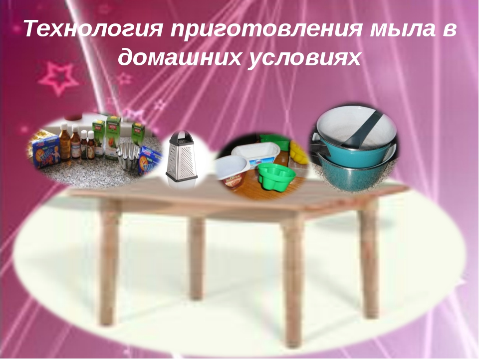 Технология приготовления мыла в домашних условиях