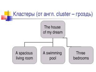 Кластеры (от англ. cluster – гроздь)
