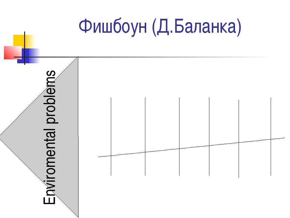 Фишбоун (Д.Баланка) Enviromental problems