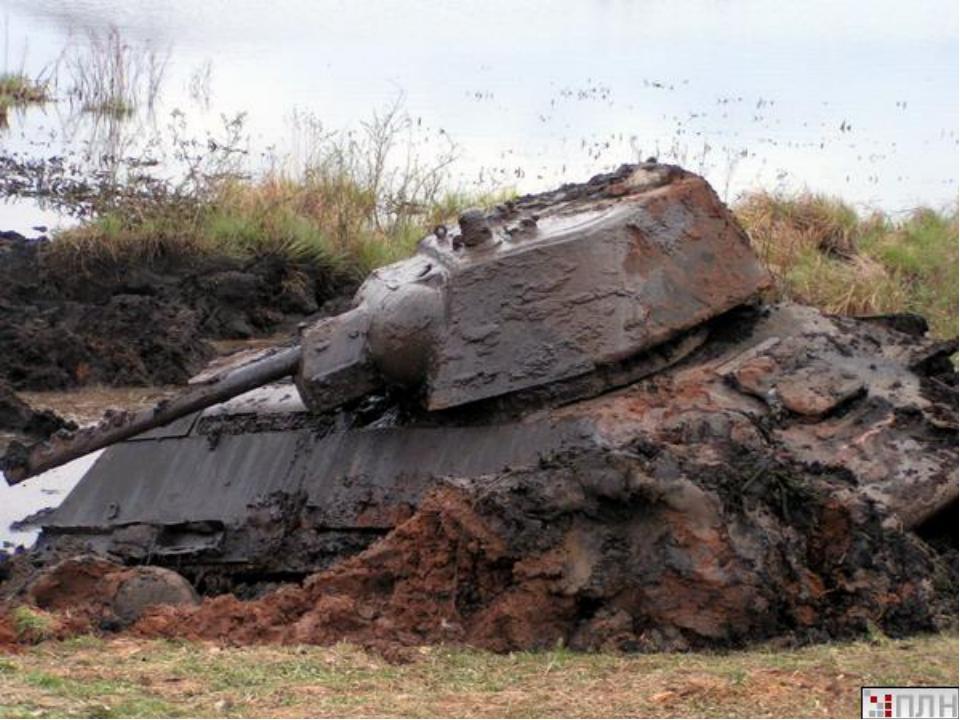 Содна дона поднимут танк, утонувший 73 года назад.